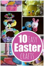 10 Easy Easter Crafts for Kids of all ages to Make