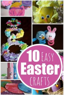 10 Easy Easter Crafts for Preschoolers