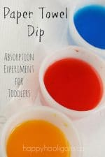 Paper Towel Dip – a Water Absorption Experiment