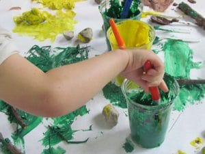 Painting With Ingredients From Nature