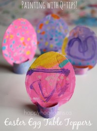 Easter Egg Table Toppers