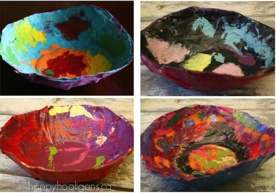 Paper-Mache-Bowls-for-Kids-to-Make-for-Mothers-Day