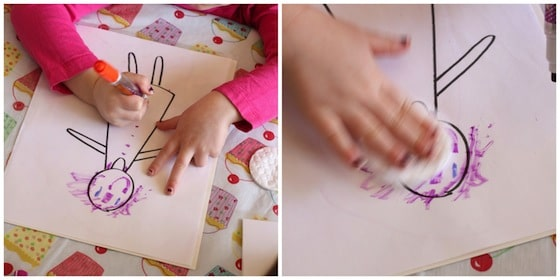 drawing on plastic page protectors with dry erase markers