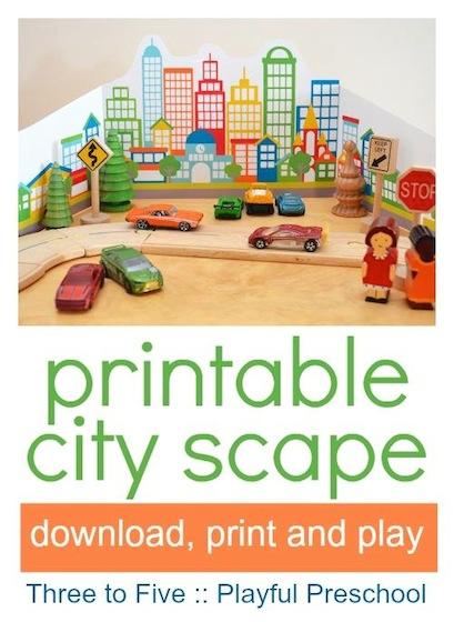 10 free preschool printables