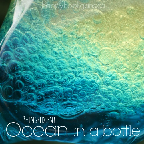 ocean in bottle square image