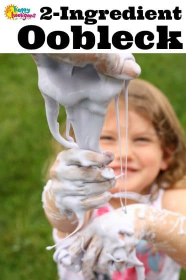 How to Make Oobleck - Happy Hooligans