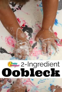 2-Ingredient Oobleck Recipe for Sensory Play