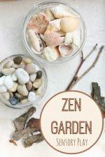Zen Garden Sensory Play