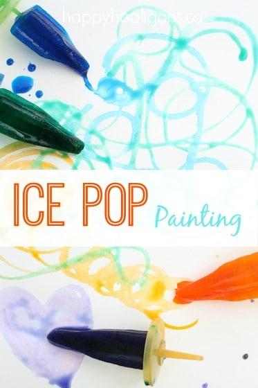 Ice Pop Painting
