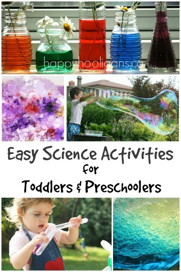 20 Science Activities For Toddlers And Preschoolers