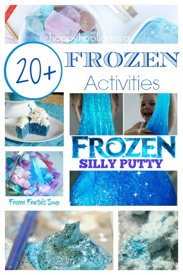 20+ FROZEN Activities & Recipes {for Anna and Elsa Fans}