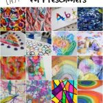 25 cool art techniques for kids