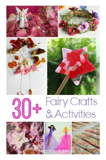 30+ Fairy Crafts and Activities for Kids