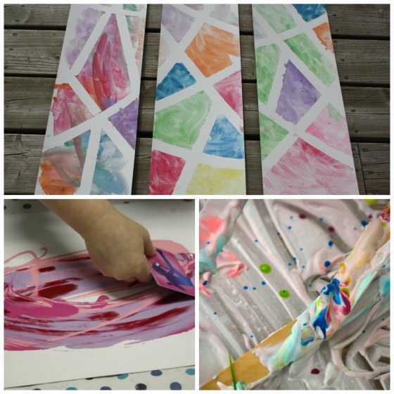 Art Processes For Preschoolers And Toddlers
