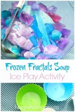 Frozen Fractals Soup Activity – Ice Play for Kids