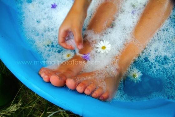 woodland fairy bath