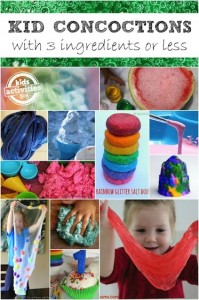 3-ingredient concoctions for kids