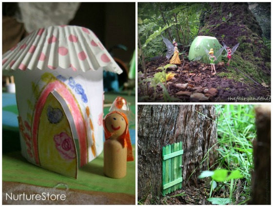 fairy houses for kids to make