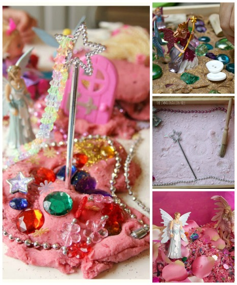 Fairy Sensory Bins