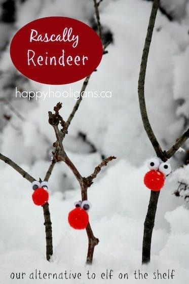 Rascally Twig Reindeer