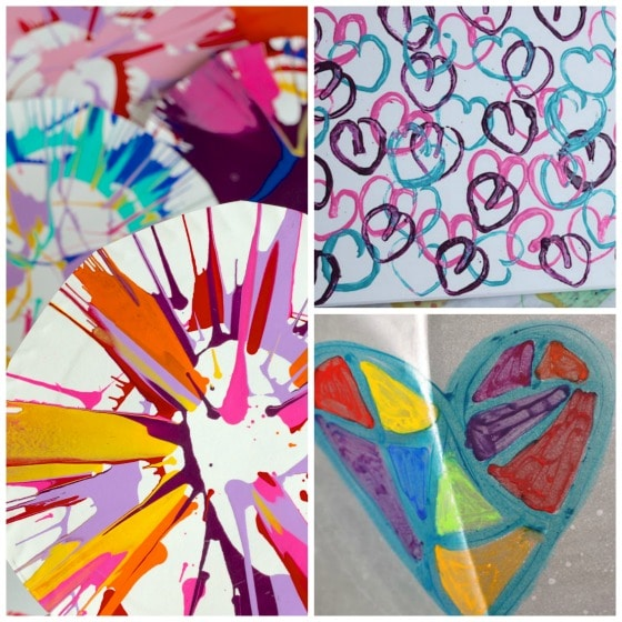 25 awesome art projects for toddlers and preschoolers for Innovative painting ideas