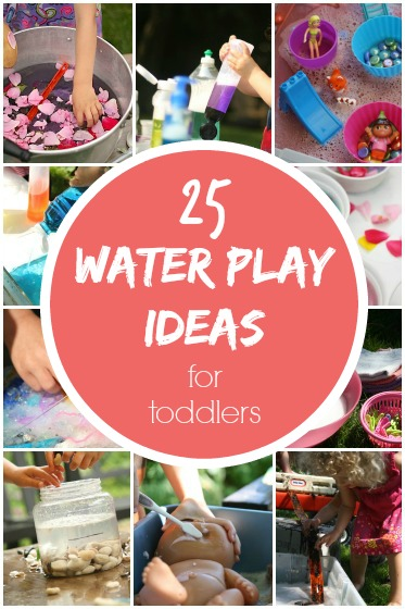 25+ Water Play Activities for Kids in the Backyard