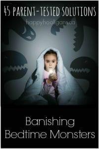 banishing monsters at bedtime