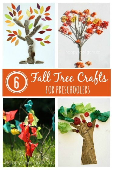 FALL TREE ART ACTIVITIES FOR PRESCHOOLERS