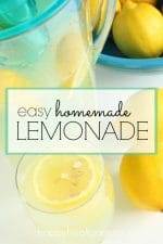 Fresh-Squeezed Lemonade in 3 Easy Steps