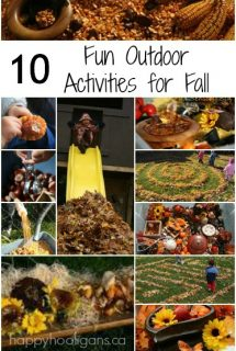 10 fall activities for kids to do outside