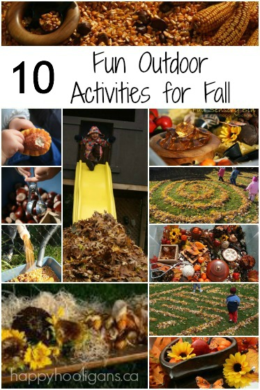 10 Fun Fall Activities for Kids to Do in the Backyard