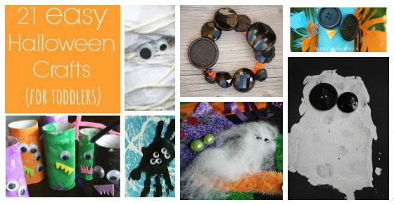 21 easy halloween crafts for preschoolers happy hooligans - Halloween Crafts For Preschoolers Easy