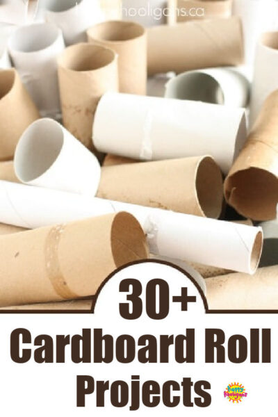 30+ Cardboard Tube Projects for Kids