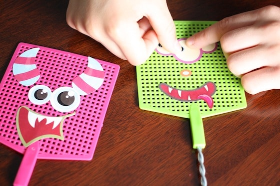 decorating monster swatters to combat bedtime fear of monsters