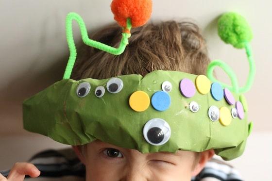 Paper Bag Alien Headgear