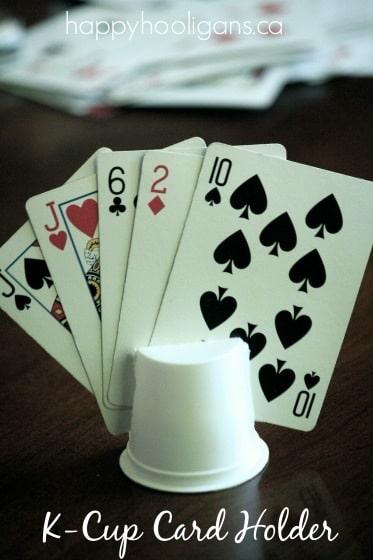 K Cup Card Holder