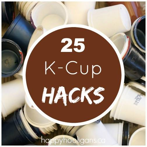 Ways to re-use K-cups