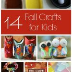 Autumn crafts for kids to make at home or preschool