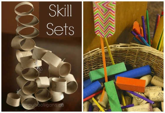 DIY activities with cardboard tubes