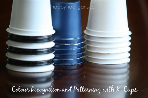colour recognition and patterning with k cups