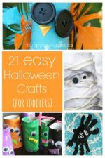 21 Easy Halloween Crafts for Toddlers and Preschoolers