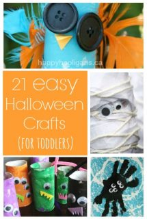 21 Easy Halloween crafts for kids