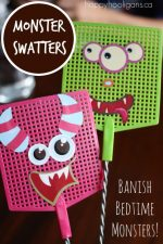 Monster Swatters – a Tool to Help Kids Conquer Their Fear of Monsters