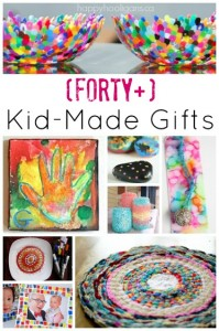 40+ kid made gifts for grownups