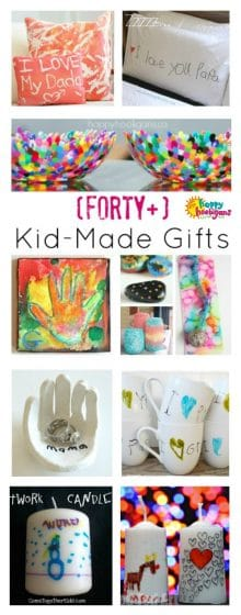 40 Kid-Made Gifts that Parents Will Really Love - Happy Hooligans