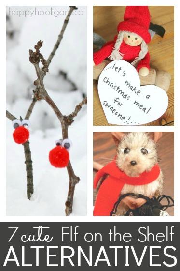 7 Cute Alternatives to the Elf on the Shelf