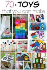 70+ {Awesome} Homemade Toys You Can Make for Your Kids