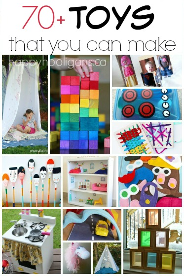 12 Creative Ideas of How to Make Toys for Children