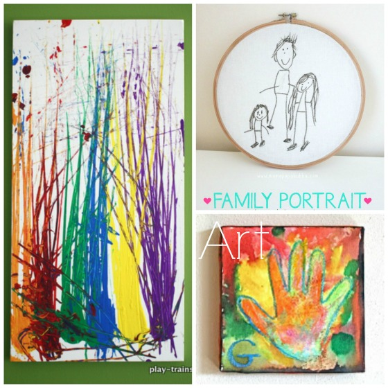 Superior Arts And Crafts Gift Ideas For Kids Part - 14: Art Kids Can Make And Give As Gifts
