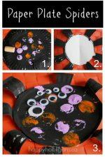 Paper Plate Spider Craft for Preschoolers